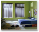 Vertical blinds are available in a spectrum of colours allowing you to express your design style brilliantly.